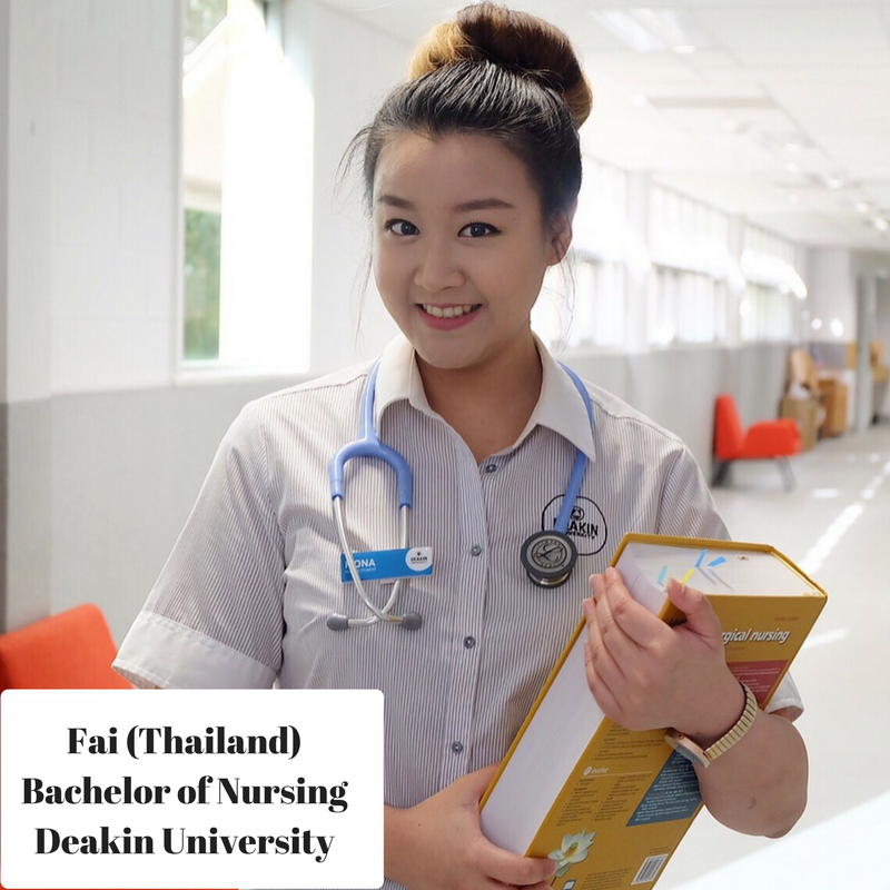 Bachelor of Nursing , Deakin University