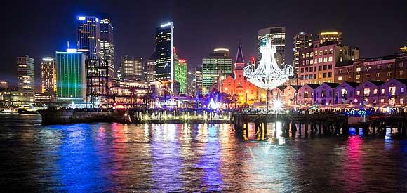 เทศกาล Vivid Sydney เทศกาลแห่งแสงไฟ และเสียงดนตรี