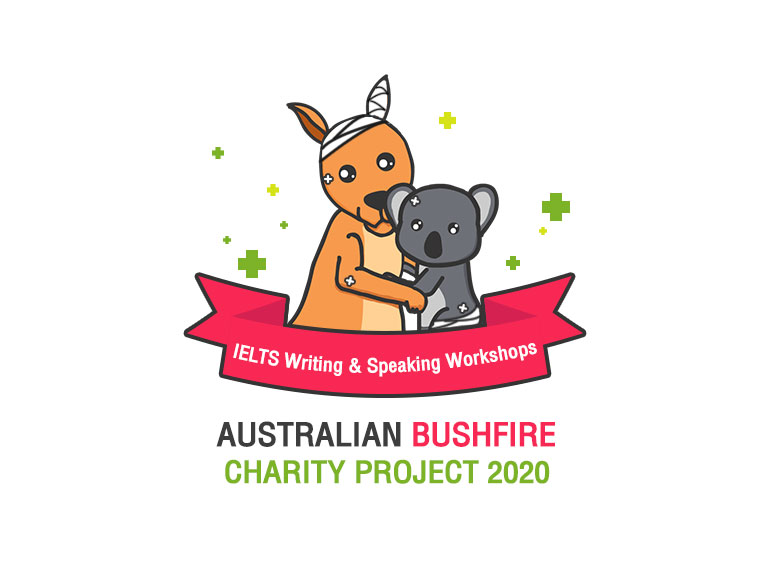 Australian-Bushfire-Charity-Project-January-2020-(Writing-&-Speaking-Skill)